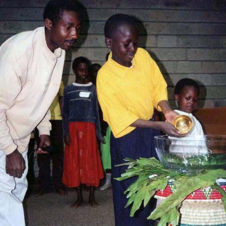 Afrika 2001-02 Habitatinvigning Rehearsal