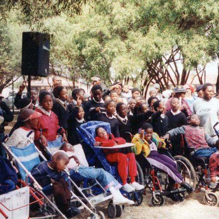 Afrika 2002-08 Soweto InaugurationLenaSommerstad4