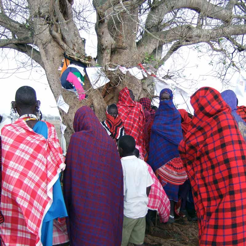 Barnens Mötesplats Simanjiro Tanzania 2006