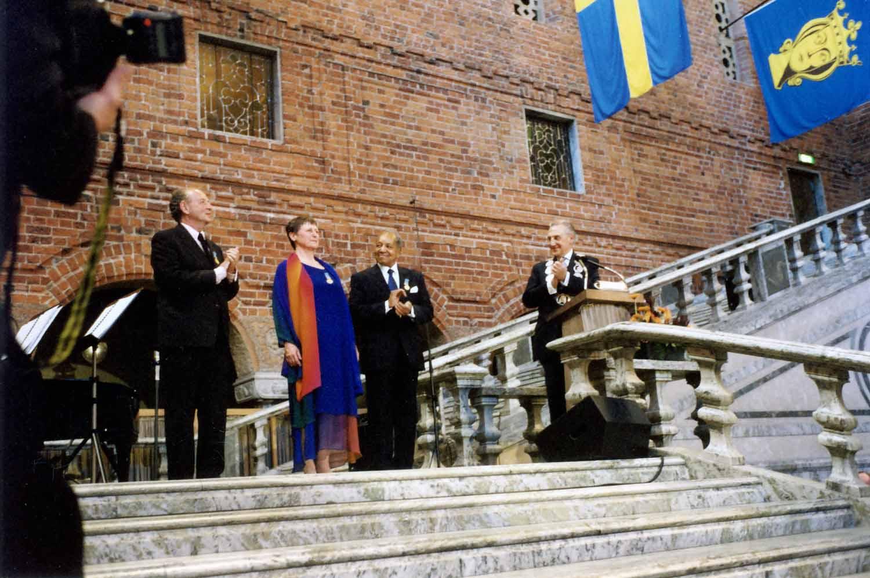 <h6>Sankt Eriks-medaljen till Kajsa Dahlström</h6>
