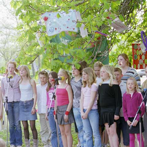 Children's<br> Meeting Place <br>Strängnäs Sweden <br>2004