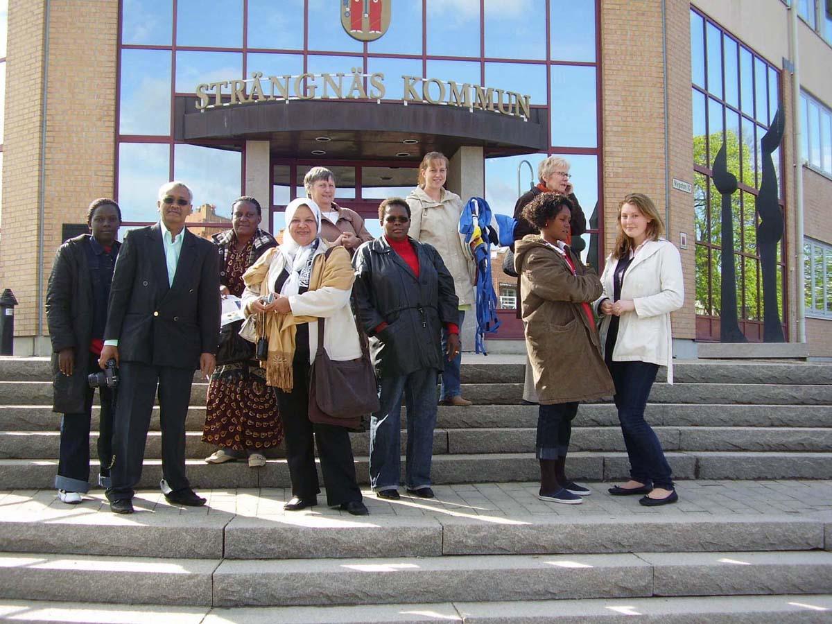 <h6>Mayors från Kenya och Uganda på Studieresa i Sverige</h6>